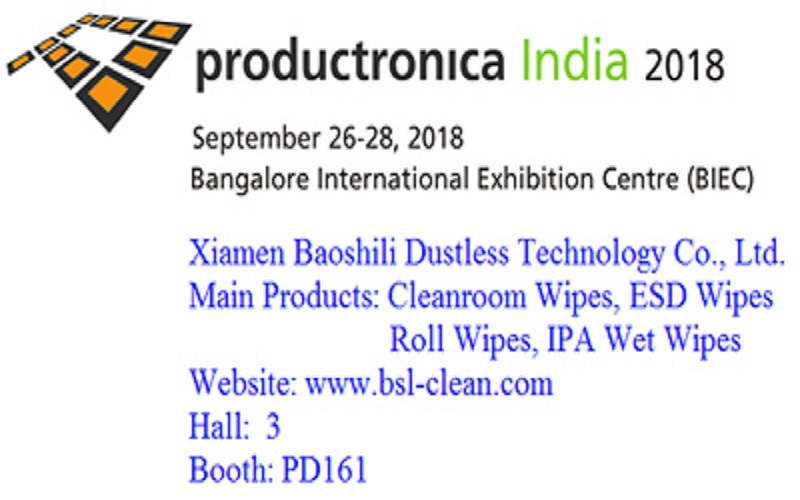 productronica india 2018 show, fecha: sep.26 a 28,2018